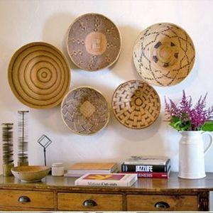 "18"" African Binga/Tonga Flat wall basket"